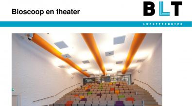 Projectafbeeldingen bioscoop en theater